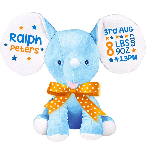 Cool Baby Boy Gifts Uk : Elephant soft toy unique baby gifts tots