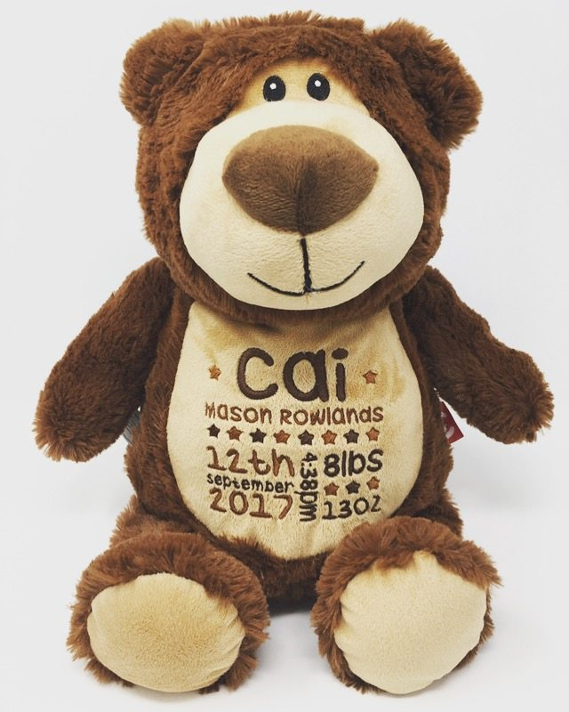 887ce763bc3 Personalised Teddy Bears