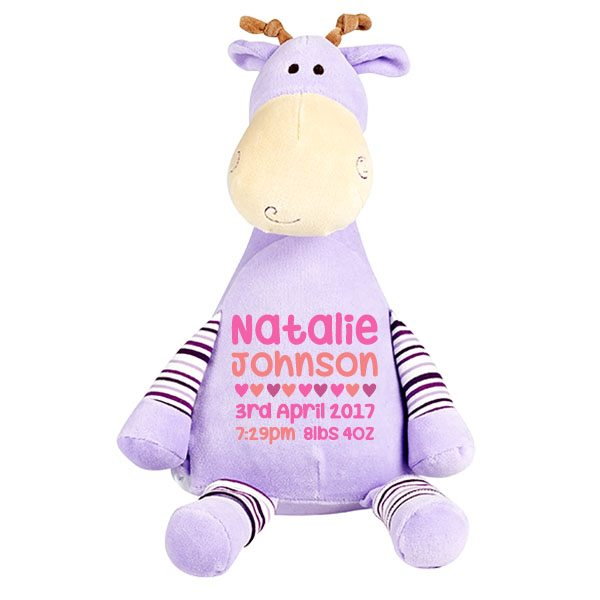 Personalised giraffe soft toy baby gifts kids gifts baby tots personalised giraffe soft toy home shop babies negle Choice Image
