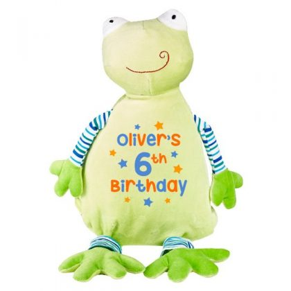 personalised frog