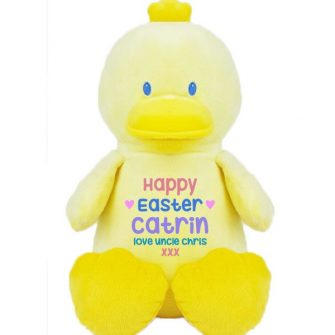 personalised duck soft toys