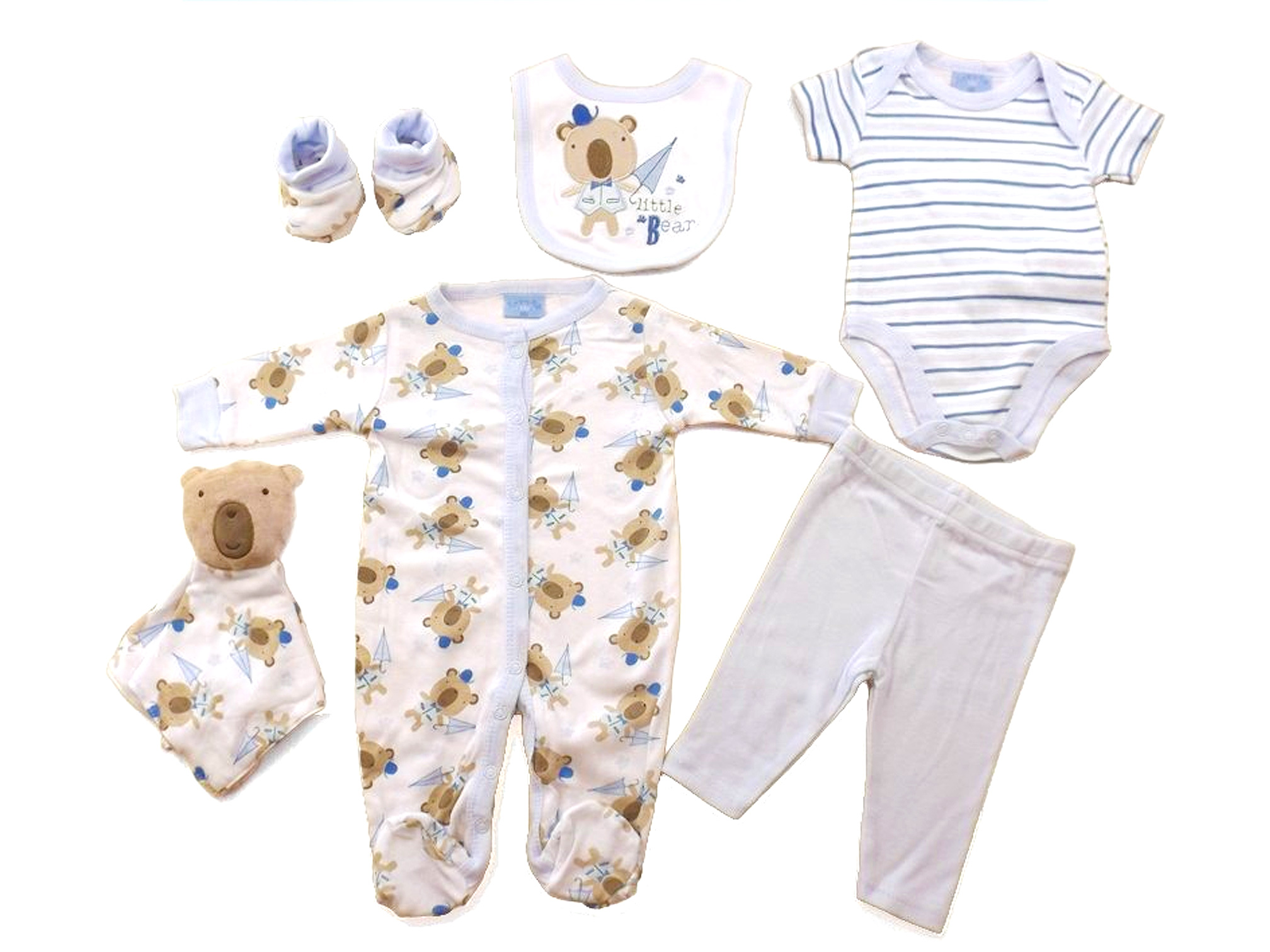 b6bda75fb Bear 7-Piece Layette Set