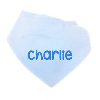 Personalised Baby Dribble Bibs