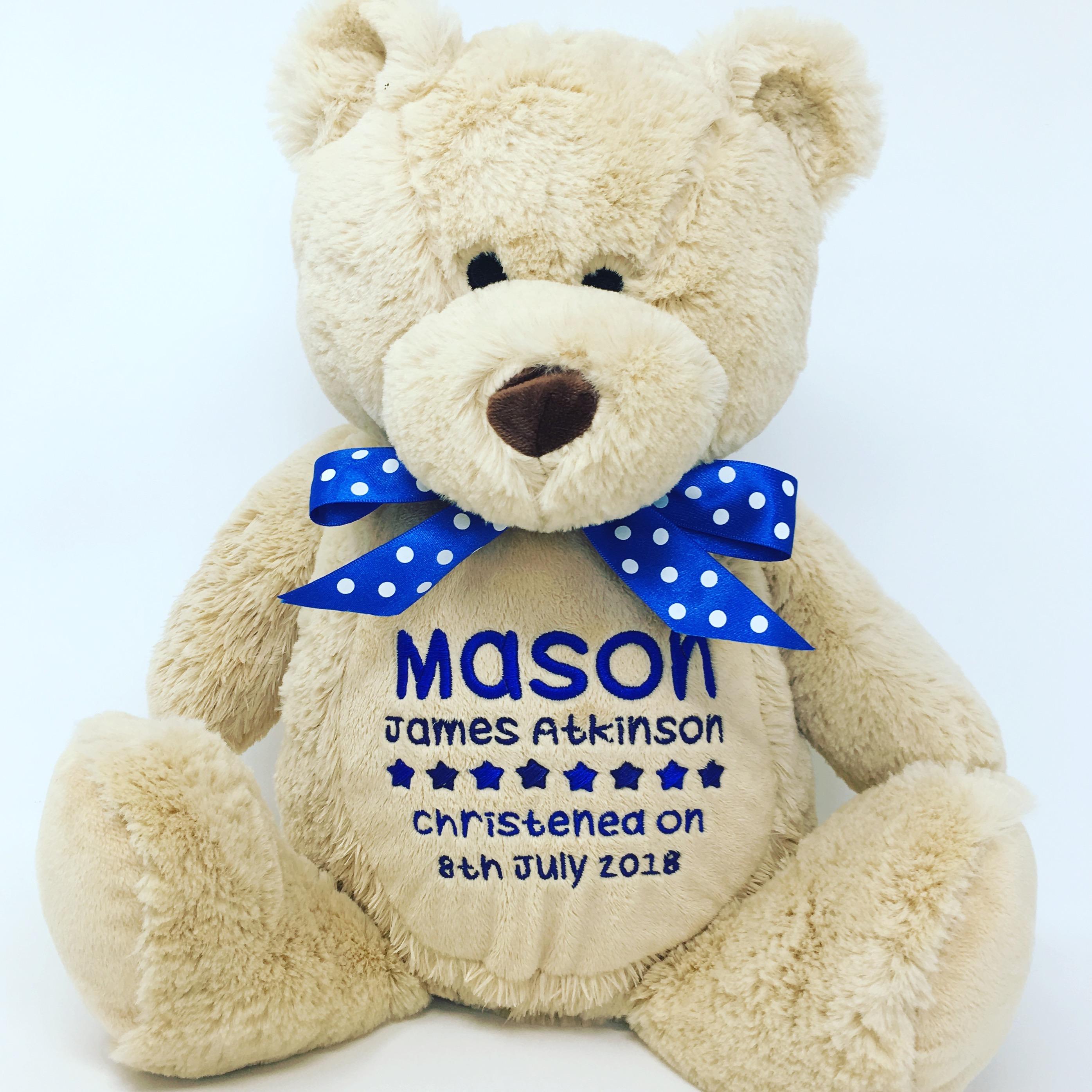 50c1f55e582 Personalised Teddy Bear Soft Toy