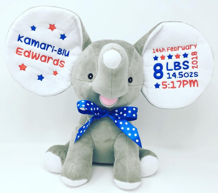 personalised cubbies soft toys
