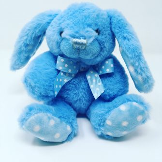 Blue Baby Rabbit Cuddly Toy