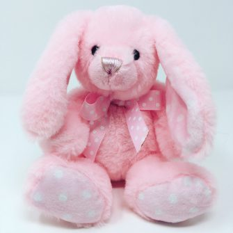 Pink Baby Rabbit Cuddly Toy