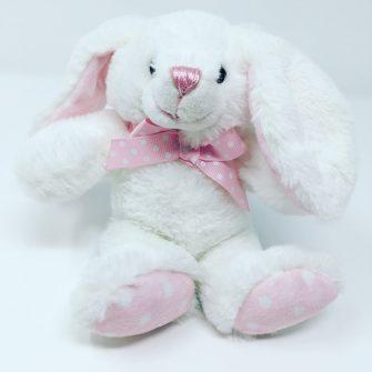 White Baby Rabbit Cuddly Toy