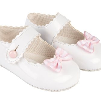 girls gingham shoes
