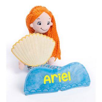 personalised mermaid rag doll