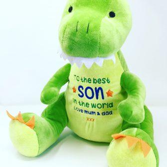 personalised boys dinosaur gifts