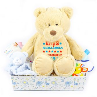 personalised baby hampers, personalised baby hampers uk, personalised new baby hampers