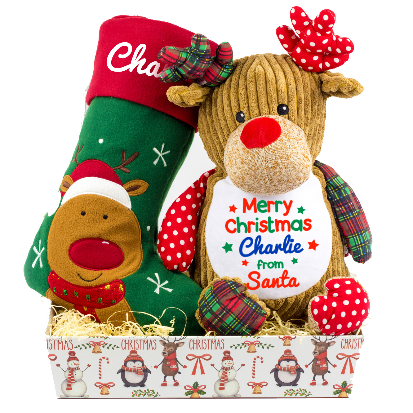 Personalised Childrens Christmas Hamper