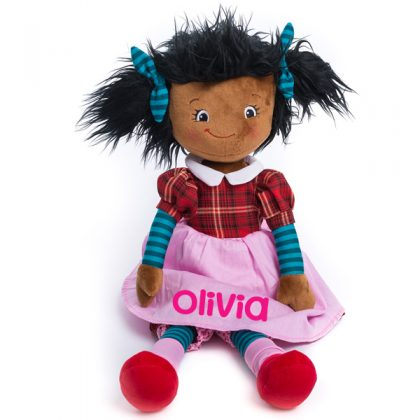 personalised girls rag dolls