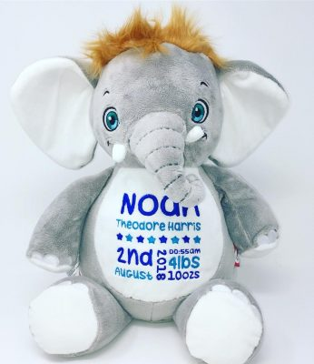 personalised-elephant-teddy