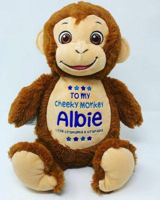 cheeky monkey soft toy